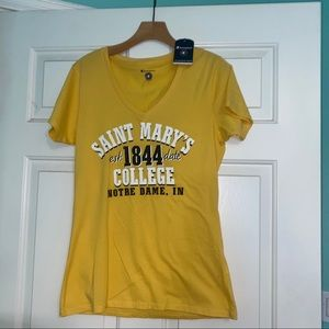 NWT Saint Mary's College of Notre Dame T-Shirt